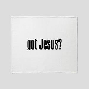Got Jesus? Throw Blanket