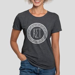 AlphaSigmaTau Medallion Womens Tri-blend T-Shirts