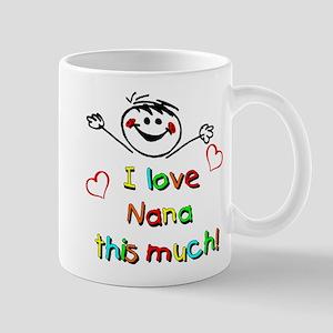 I Love Nana (Boy) Mug