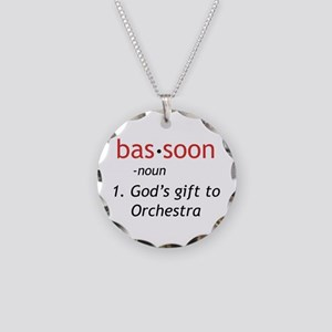 Bassoon Ninja Necklace Circle Charm