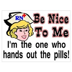 be nice... Poster