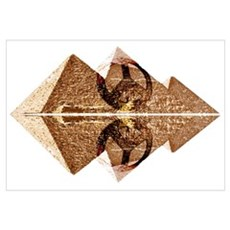 Pyramids Of Peace Canvas Art
