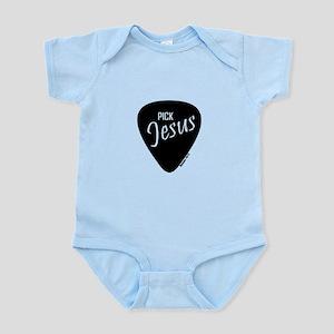 Pick Jesus - Romans 10:13 Infant Body Suit