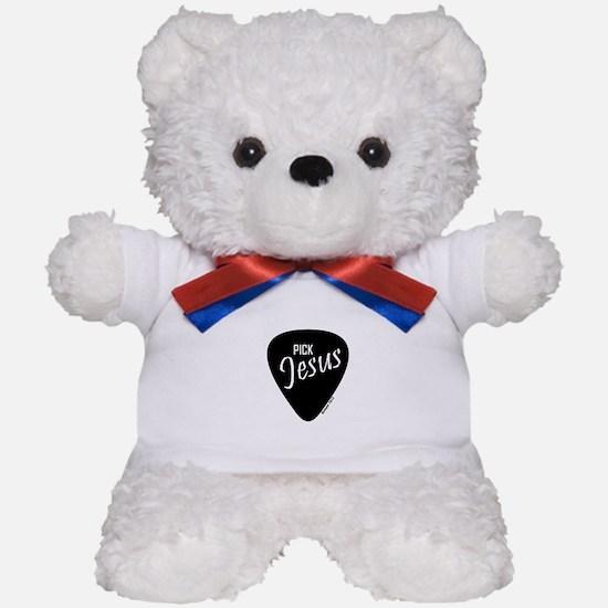 Pick Jesus - Romans 10:13 Teddy Bear
