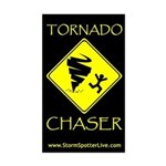 TORNADO CHASER WINDOW STICKER