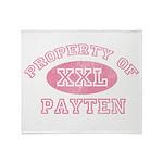 Property of Payten Throw Blanket
