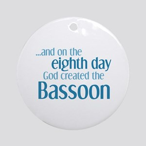 Bassoon Creation Ornament (Round)