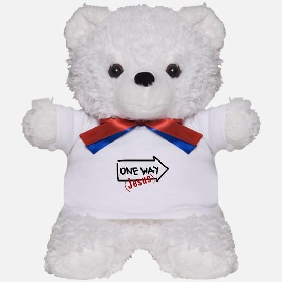 One Way (Jesus) Teddy Bear