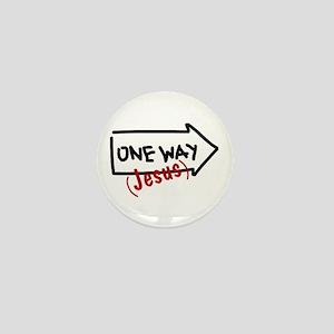 One Way (Jesus) Mini Button