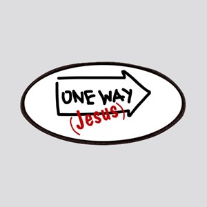 One Way (Jesus) Patches