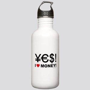 Yes! I love money! Stainless Water Bottle 1.0L