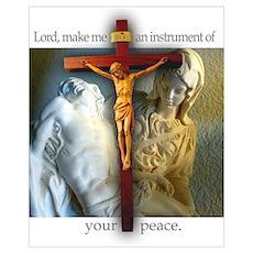 Crucifix/Pieta Poster