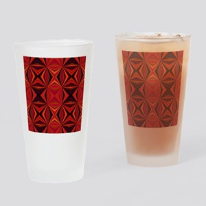 Moxy Op Art Design Drinking Glass