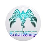 tribal wings Ornament (Round)