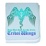 tribal wings baby blanket