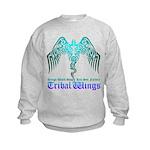 tribal wings Kids Sweatshirt