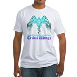 tribal wings Fitted T-Shirt