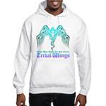 tribal wings Hooded Sweatshirt