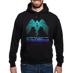 tribal wings Hoodie (dark)
