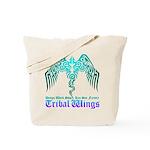 tribal wings Tote Bag