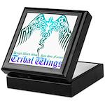 tribal wings Keepsake Box