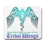 tribal wings Mousepad
