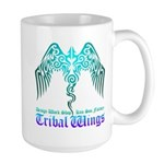 tribal wings Large Mug