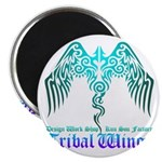 tribal wings Magnet