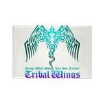 tribal wings Rectangle Magnet