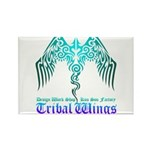 tribal wings Rectangle Magnet (100 pack)