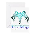 tribal wings Greeting Cards (Pk of 10)