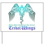 tribal wings Yard Sign