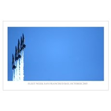 Blue Angels SF Poster