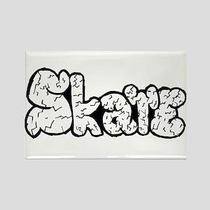 Skate Rocks Rectangle Magnet