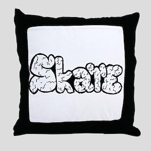 Skate Rocks Throw Pillow