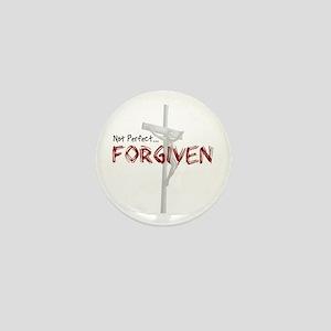 Not Perfect... Forgiven Mini Button