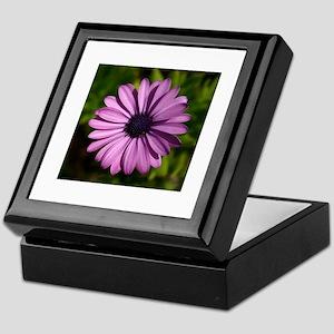 Purple Flower308 Keepsake Box