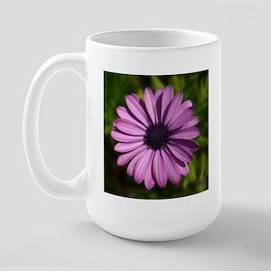 Purple Flower308 Large Mug