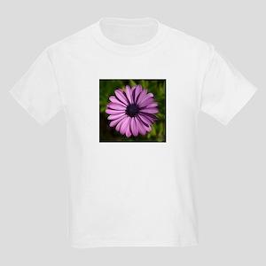 Purple Flower308 Kids T-Shirt