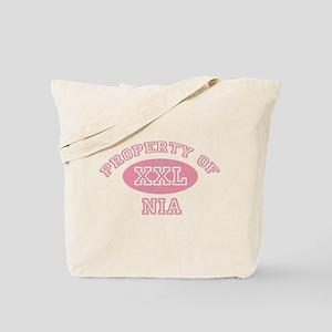 Property of Nia Tote Bag