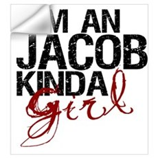 Jacob Kinda Girl Wall Decal
