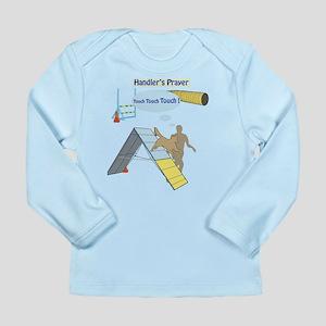 Handler Prayer - Touch Long Sleeve Infant T-Shirt