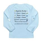 Agility Body Long Sleeve Infant T-Shirt