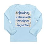 Agility Dance Long Sleeve Infant T-Shirt
