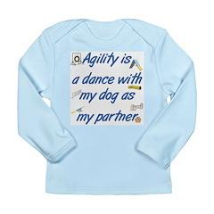 Agility Dance Long Sleeve Infant T-Shirt