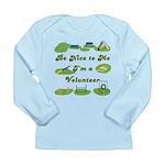 Agility Volunteer v2 Long Sleeve Infant T-Shirt