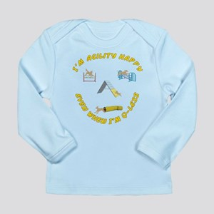 Happy Q-Less Long Sleeve Infant T-Shirt
