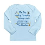 Agility Champion Long Sleeve Infant T-Shirt