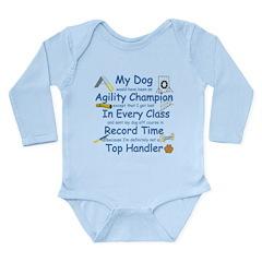 Agility Champion Long Sleeve Infant Bodysuit