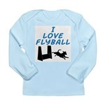 Love Flyball (2) Long Sleeve Infant T-Shirt